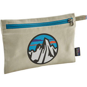 Patagonia Zippered Sacoche, fitz roy scope icon/bleached stone